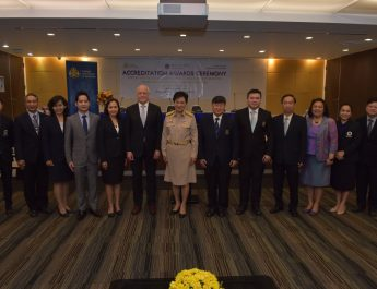 The Institute and Faculty of Actuaries (IFoA) awarded accreditation to Mahidol University's undergraduate program in Actuarial Science